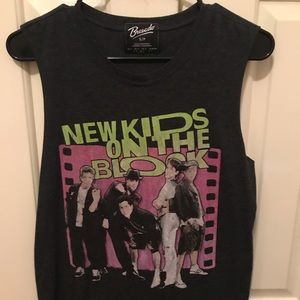 Tops - Vintage NKOTB muscle tank size Small